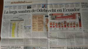 Resultado de imagen para odebrecht ecuador