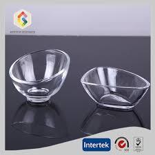 mini dessert glass bowl