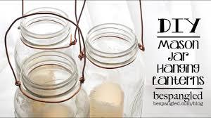 mason jar lantern how to diy wedding craft make a hanging mason jar lantern