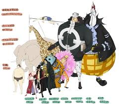 One Piece Height Chart Height Chart Of The Original Shichibukai Onepiece