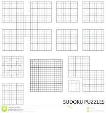 Blank Worksheets Template Sudoku Printable Michaeltedja