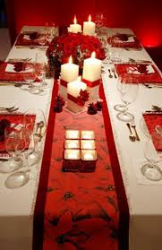 Christmas Table Decor Ideas - Gift Wrapping Table Runner - Click pic for 29  Christmas Craft Ideas
