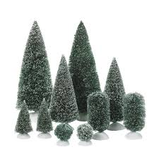 Christmas Tree Village Display Stands Amazon Department 100 Accessories for Villages BagOFrosted 94