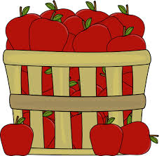 red apple clipart. apples in a basket red apple clipart