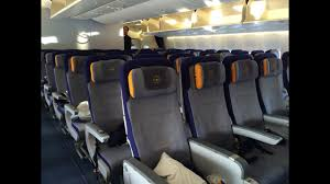 Lufthansa Airlines 747 Seating Chart Lufthansa Boeing 747 8i Economy Class Review