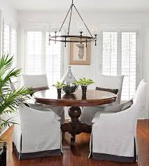 brilliant 170 best dining room ideas images on with slip covered chairs designs 16
