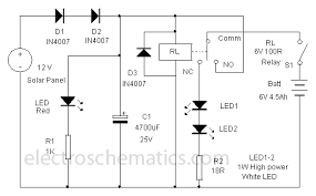 lamp circuit diagram ireleast info solar powered led lamp circuit wiring circuit