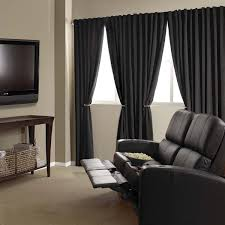 com absolute zero 11718050x084bk velvet blackout home theater 50 inch by 84 inch single curtain panel black home kitchen
