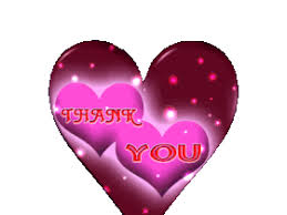 Image result for thank you with hearts