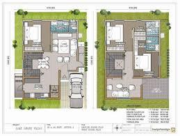 well suited ideas 15 duplex house plans 30 40 site duplex house plan large
