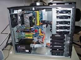 I am about to buy an SATA DVD-RW so I'll probably run it the same way as  the hard drives, with the exception of it curling over and plugging into  the drive.