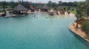 Backyard Swimming Pool Take A Tour Inside The Worlds Largest Backyard Pool Abc13com