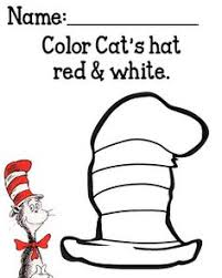 Small Picture Free Printable Cat in the Hat Hat in either color or black