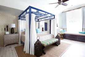 View in gallery Eclectic bedroom brings together Asian and Moroccan styles