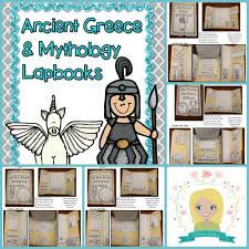 ancient and greek mythology lapbooks ancient ideas