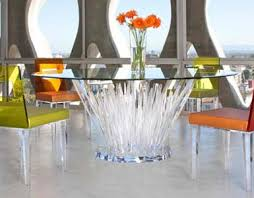 acrylic furniture. Dining Tables Acrylic Furniture