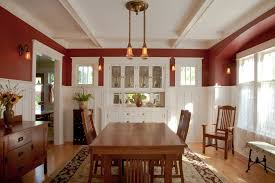 dining room rug ideas dining room craftsman with period lighting china cabinet period light fixtures