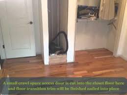 how to install prefinished hardwood floor