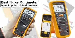 Fluke Tester Comparison Chart Best Fluke Multimeter 2019 Most Popular 10 Multimeters