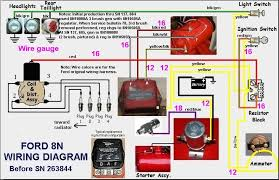 ford n wiring diagram yesterday s tractors ford 8n wiring diagram