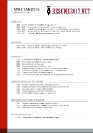 Preferred Resume Format Simple Most Popular Resume Templates Socialumco