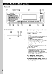 sony cdx gt65uiw instructions operating instructions