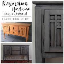 restoration hardware inspired diy tutorial