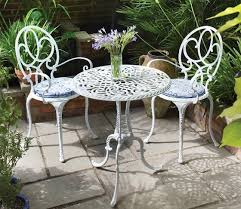 White metal patio chairs Balcony White Metal Patio Furniture Pinterest White Metal Patio Furniture Gardenpond Garden Furniture Metal
