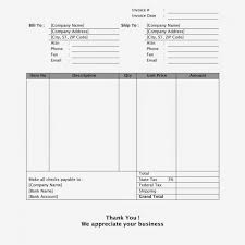 Free Sales Invoice Template Word Receipt Retail Format In Download