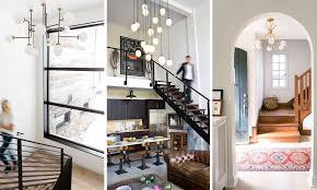 tips for haning a pendant light stairwell