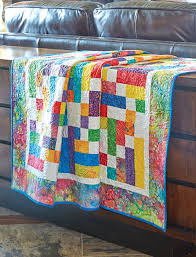 Bright Strips Make a Fun and Festive Quilt - Quilting Digest & Calliope Quilt Pattern Adamdwight.com