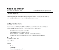 Construction Objective For Resume Resume Objective For Management Position Objective For Resumes Job 77