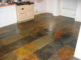 Tiled Kitchen Floors Gallery Slate Tile Kitchen Floor Homes Design Inspiration