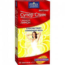 <b>СУПЕР</b> СЛИМ ЧАЙ Лимон 30 шт. фильтр-пакет Фитэра купить по ...