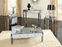 mirrored coffee table round mirrored bedside table mirrored side tables bedroom