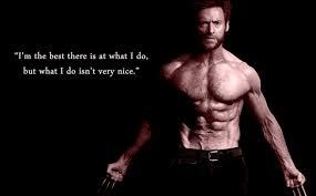 Wolverine Hugh Jackman Quotes. QuotesGram via Relatably.com