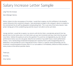 pay raise letter samples pin salary increase letter to employee template on pinterest salary