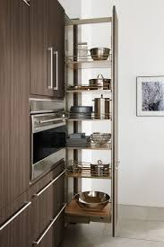 Tall pull-out pantry, as shown in the contemporary Expressions kitchen by  #WoodMode
