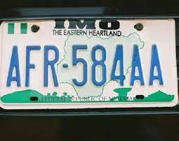 how to verify plate number in nigeria