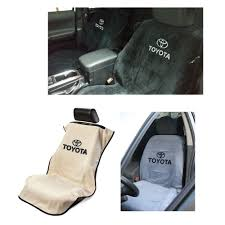 seat armour seat cover with toyota logo and lettering toyota tacoma tundra