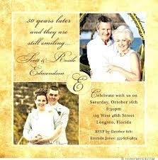 50 Years Invitation Cards Wedding Anniversary Announcement