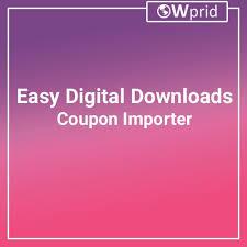 Easy Digital Downloads Coupon Importer 1 1 2