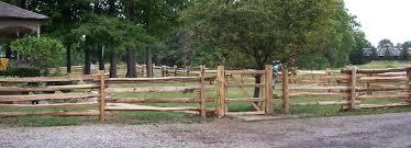 split rail wood fence gate. Nice Cedar Split Rail Fence With Entrance Gate Wood