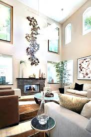 high ceiling wall decor ideas decorating for tall walls how to decorate large w