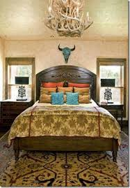 Skull Bedroom Decor Bedroom With Western Home Decor Ideas Painted Steer Skull And
