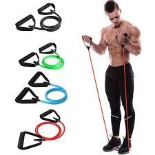 Yoga Elastic Resistance Band Loop Exercise PE Crossfit Fitness ...