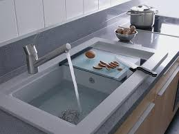 Kitchen Sinks For Granite Countertops Gorgeous Stainless Kitchen Sink For Elegant Kitchen Fixtures