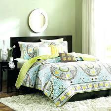 yellow king size quilt set comforters microfiber comforter green teal brown bedspread