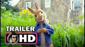 PETER RABBIT Official Trailer (2018) James Corden Animated Film HD ...