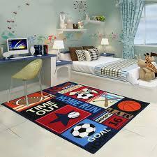 rug for kids room. 2 sizes sports balls rug and carpet for kids bedroom funny tapeta alfombra children room